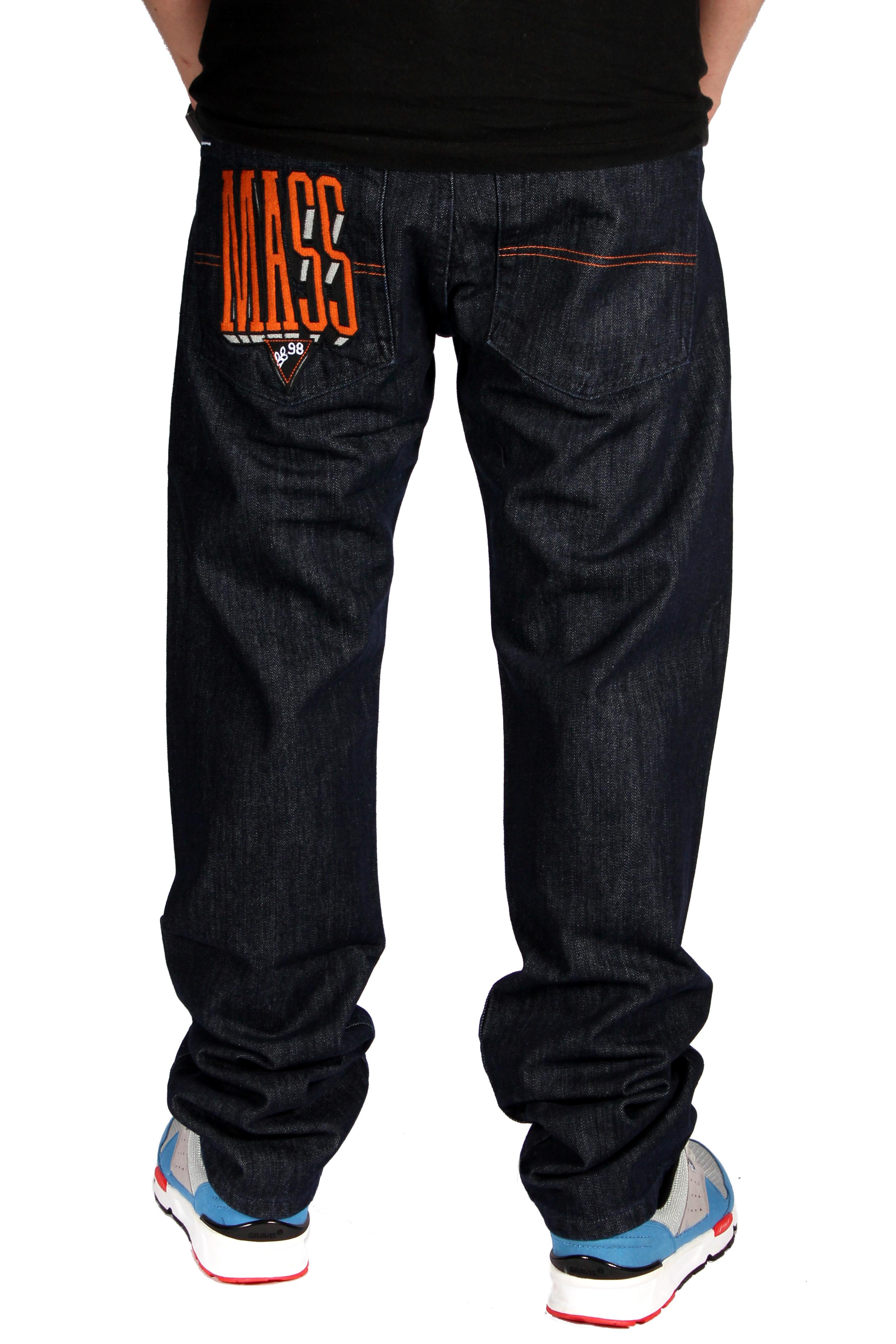 Spodnie Mass Denim Jeans Block (Rinse)