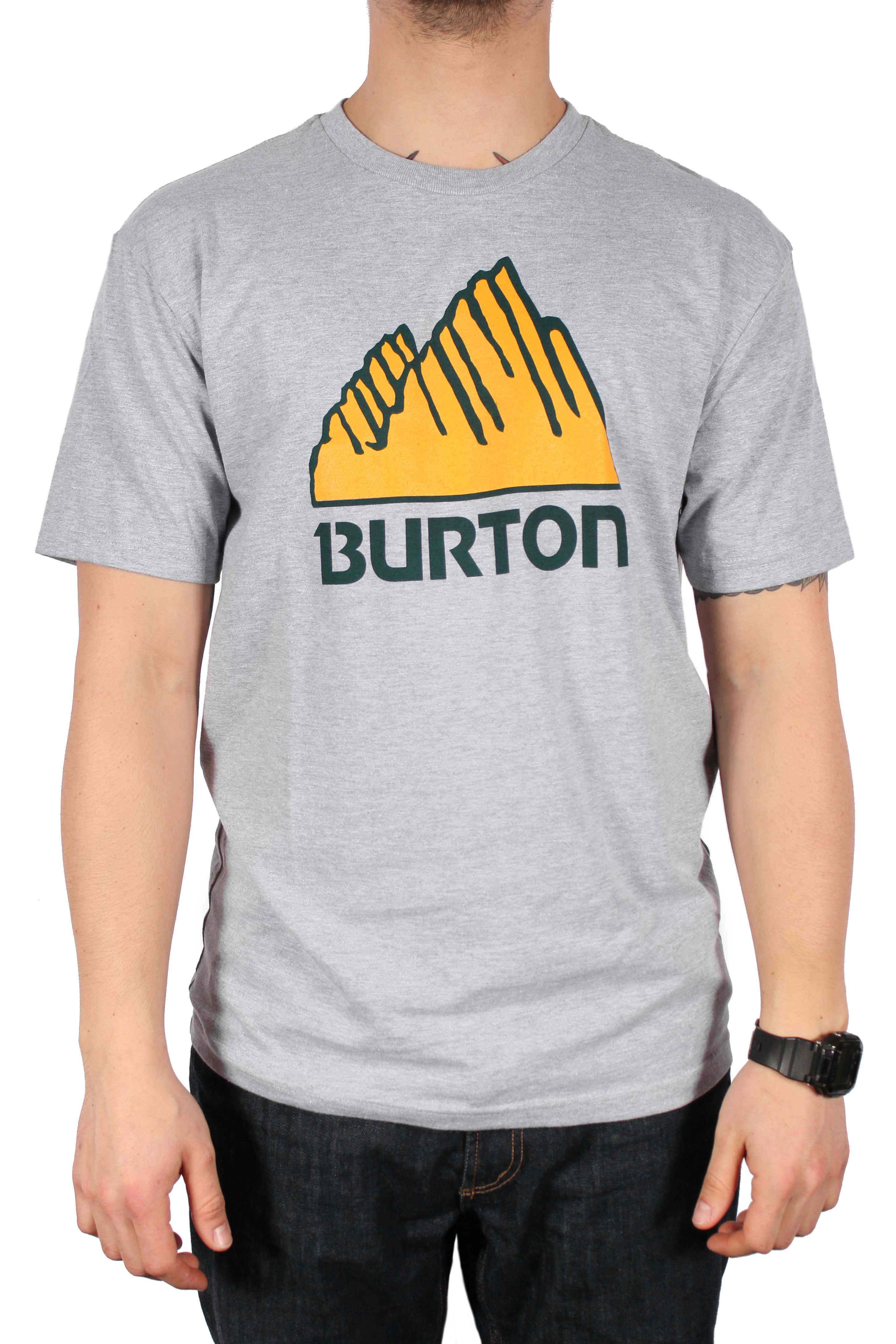 Koszulka Burton Our Mountain (Heather Gray)