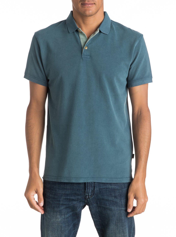 Koszulka Polo Quiksilver Miz Kimitt (Indian Teal) Ss17
