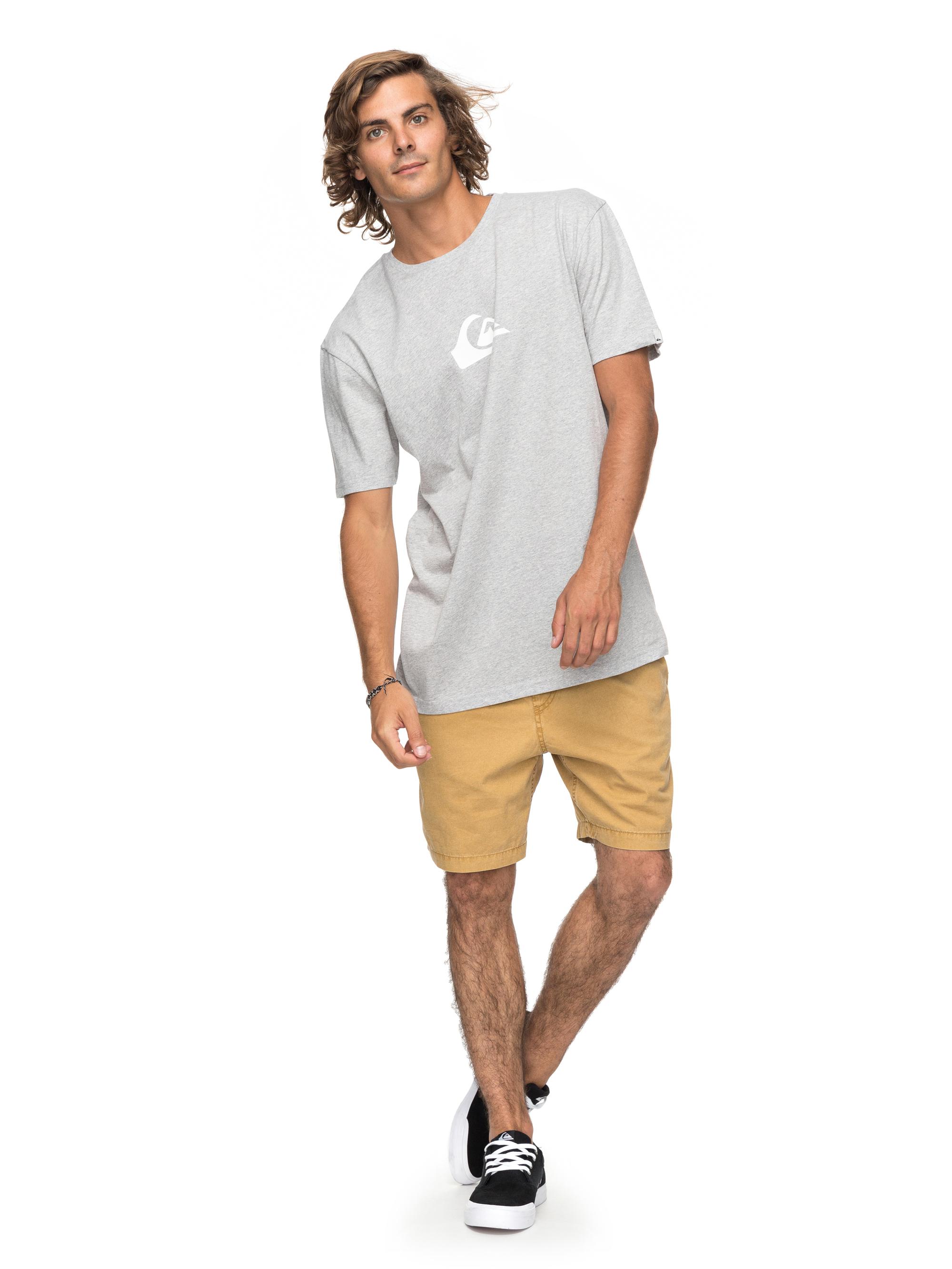 Koszulka Quiksilver Classic Comp Logo (Athletic Heather) Ss18