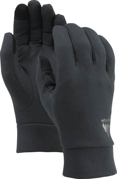 Rękawice Snowboardowe Burton Screengrab Fleece Liner (True Black)