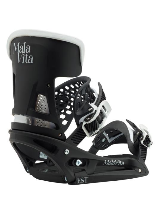 Wiązania Snowboardowe Burton Malavita Wing Est (Black/White) W18