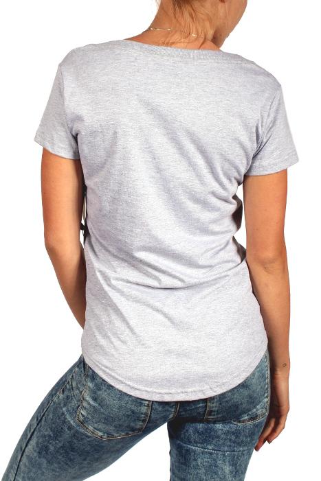 Koszulka Damska Burton Found Vneck (Gray Heather)