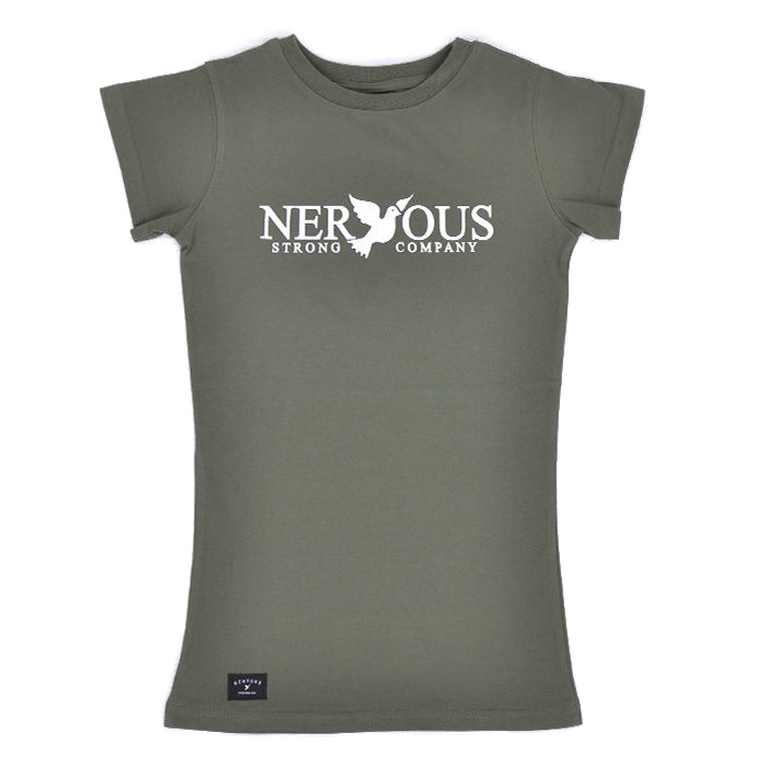 Koszulka Nervous Wmn Fa17 Classic Olive