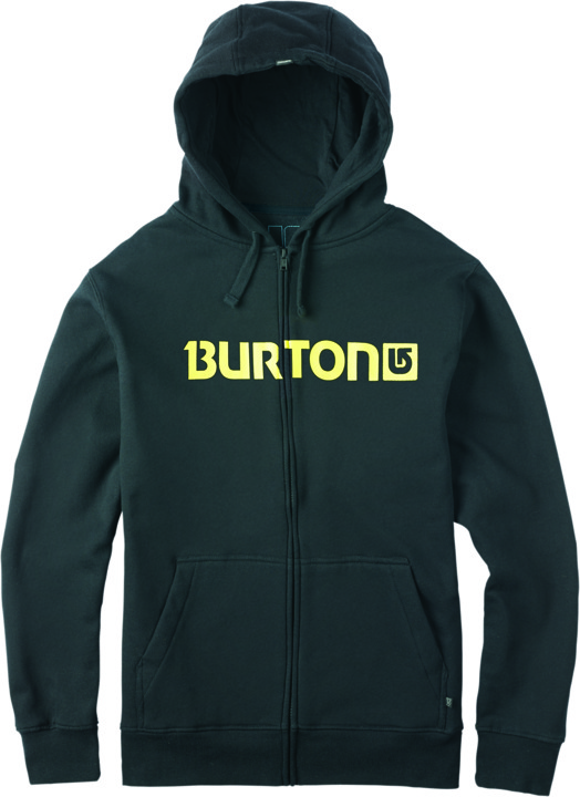 Bluza Burton Logo Horizontal Full-zip (True Black)