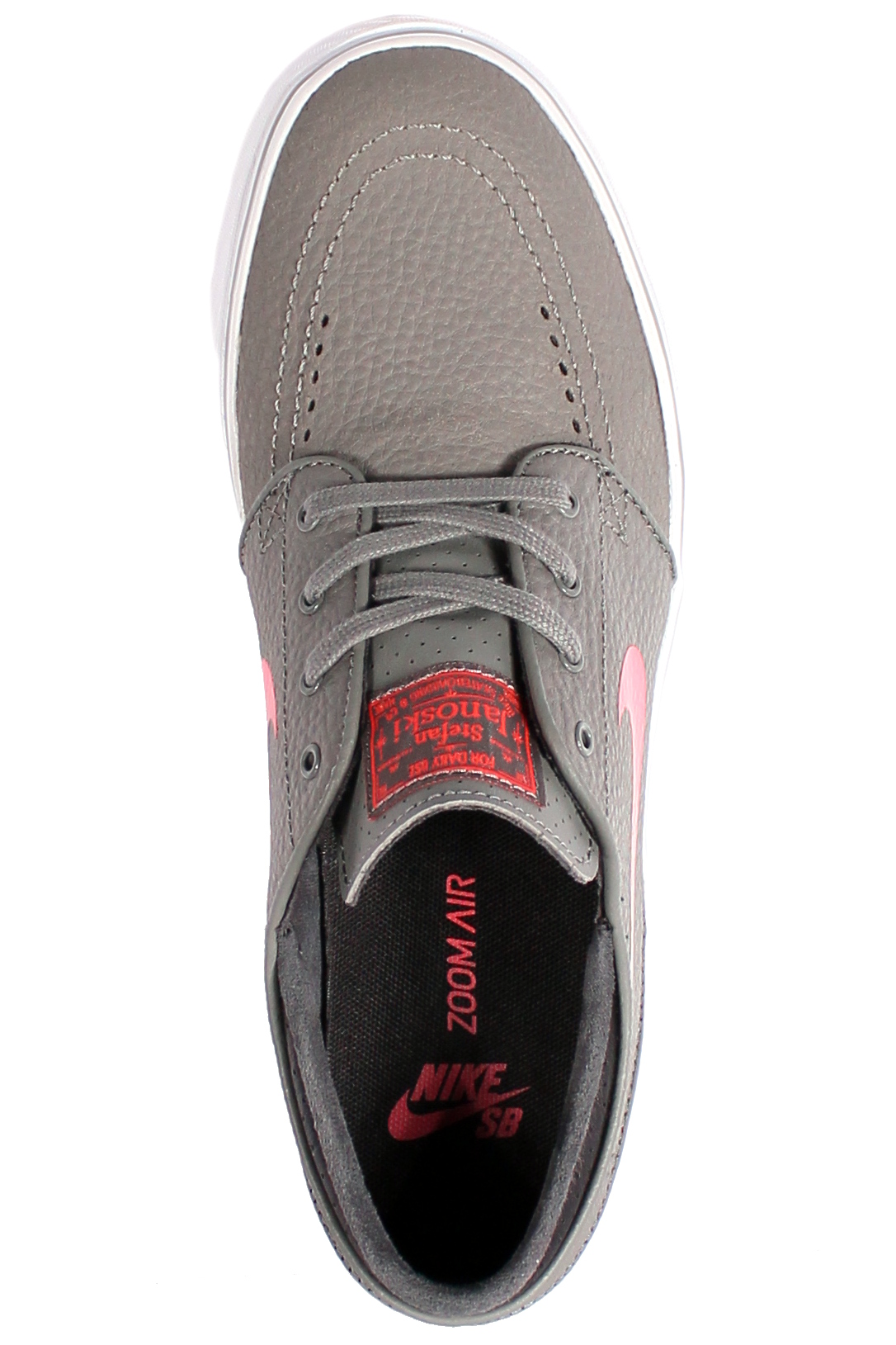 Buty Nike Sb Zoom Stefan Janoski L (Base Grey/Crimson/Black)