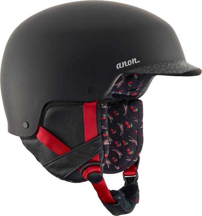 Kask Snowboardowy Anon Aera (Black Cherry) W18