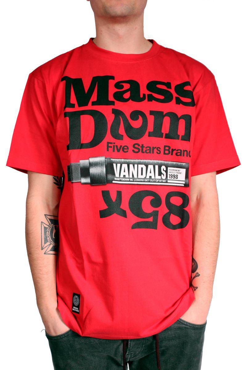 Koszulka Massdnm Vandals (Red)