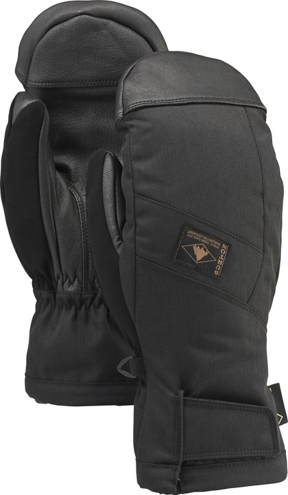 Rękawice Snowboardowe Burton Gore Tex Leather Mitt (True Black)