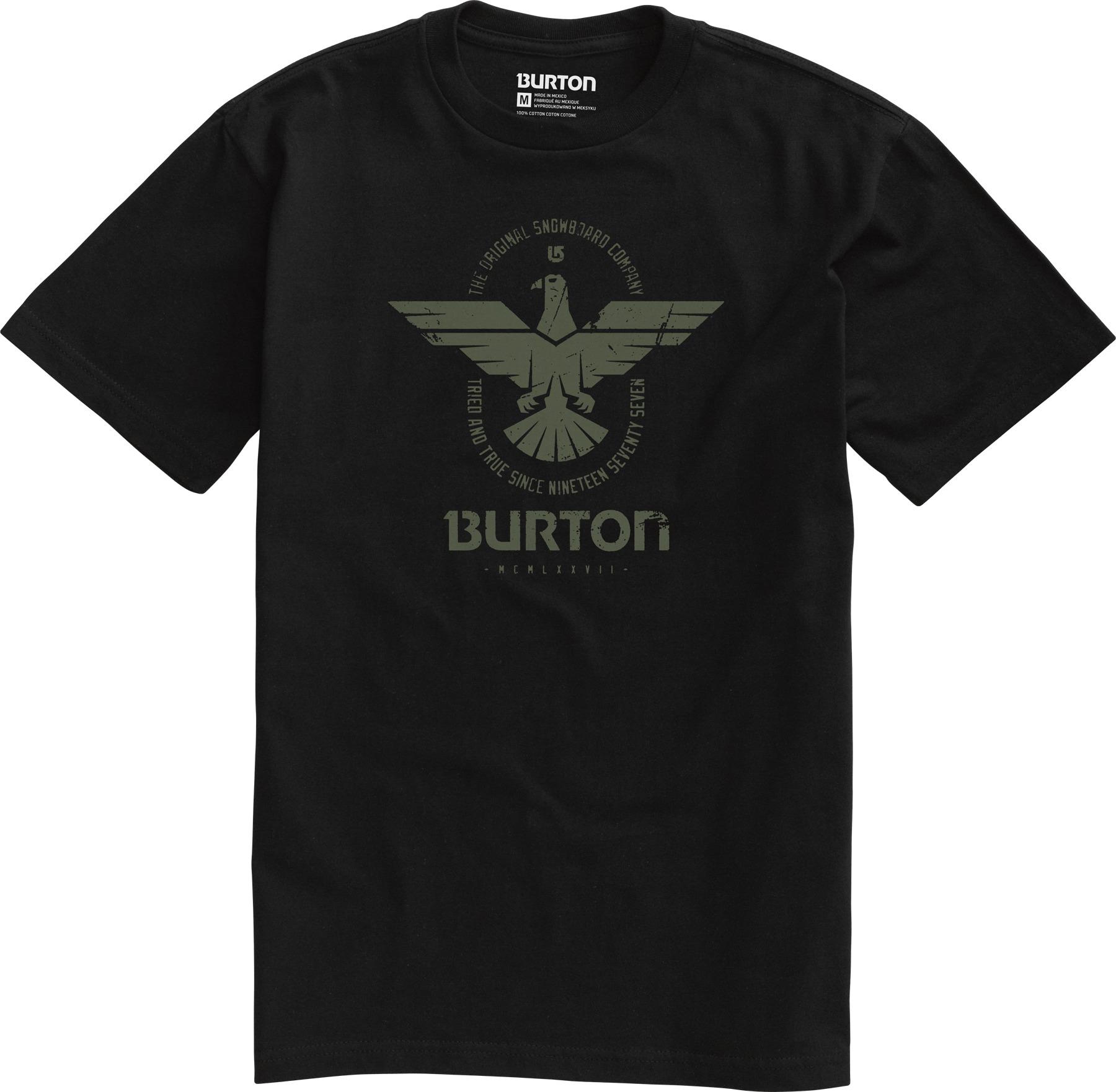 Koszulka Burton Caswell (True Black)