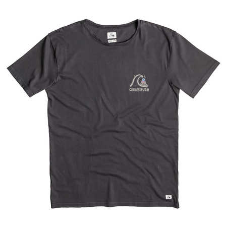 Koszulka Quiksilver Garment Dyed Original (Black) Ss16