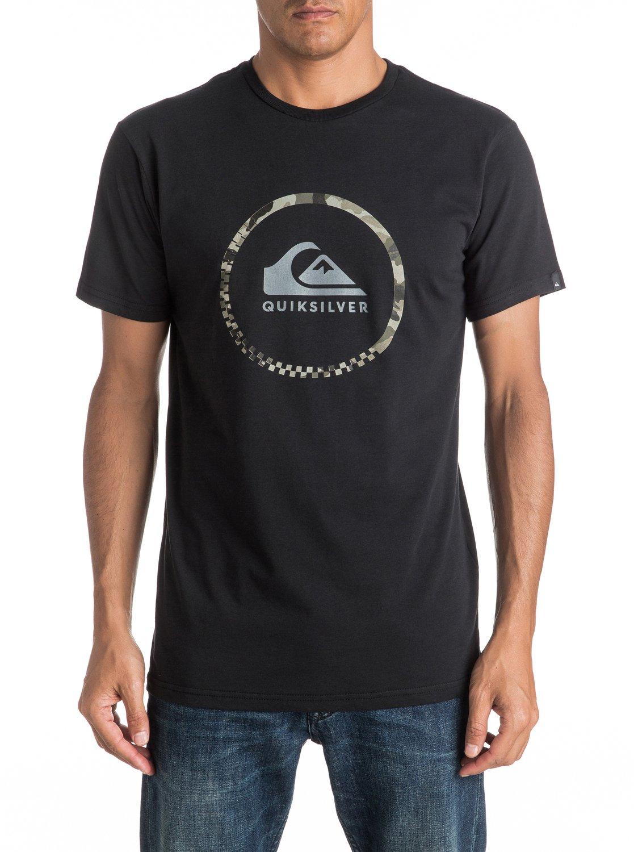 Koszulka Quiksilver Active Logo 3.0 (Black) Ss17