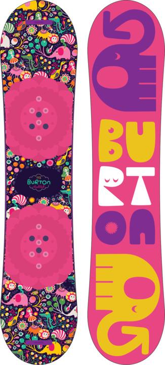 Deska Snowboardowa Burton Chicklet W19 (120)