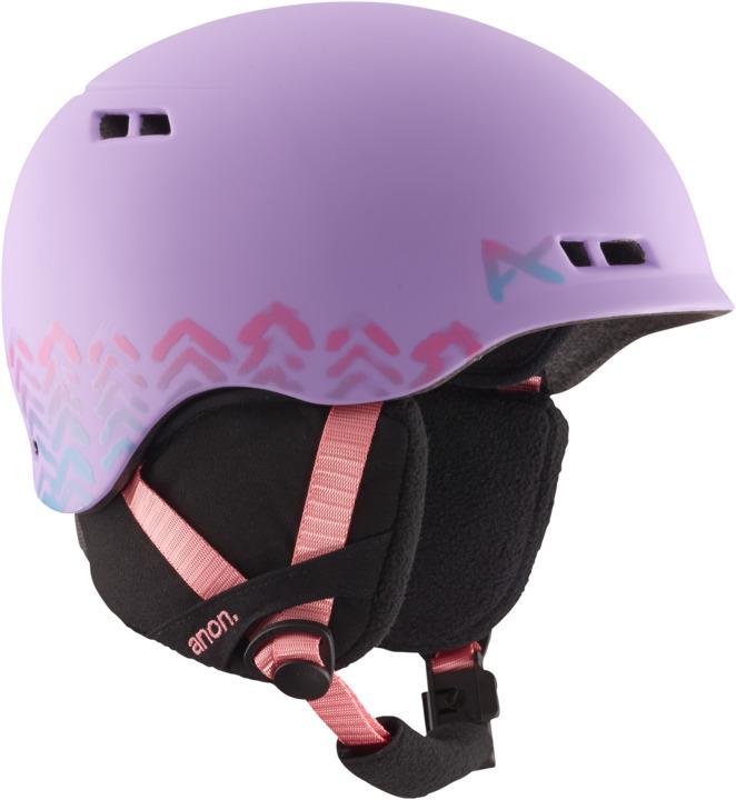 Dziecięcy Kask Snowboardowy Anon Burner Youth (Arrowhead Purple) W16