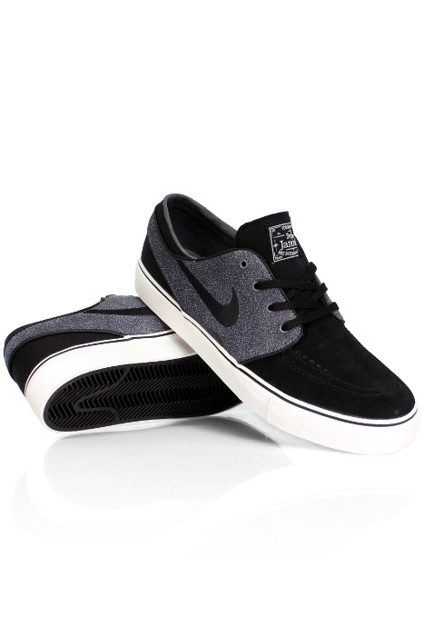Buty Nike Sb Stefan Janoski (Black/ Cool Grey-ivory)