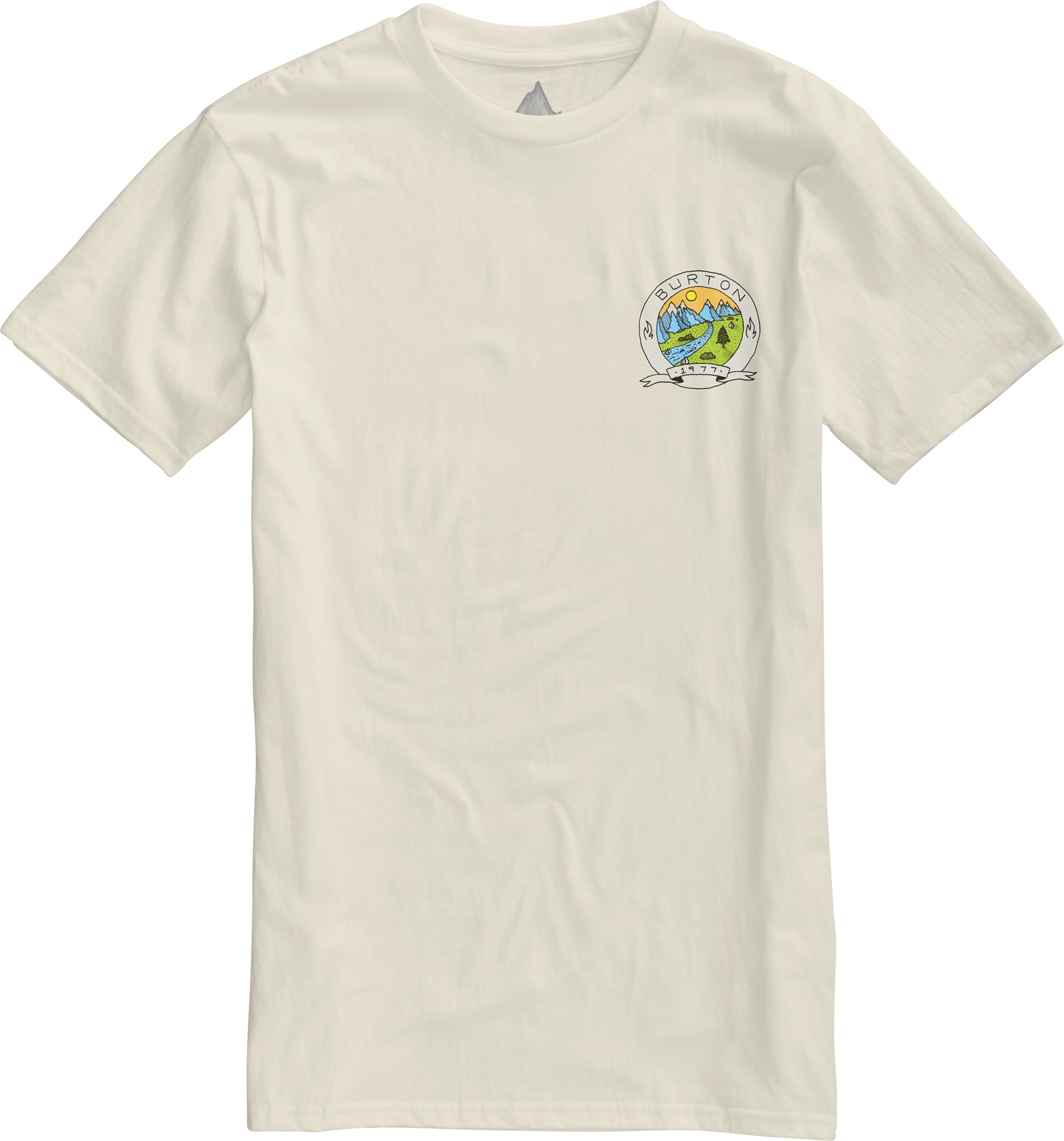 Koszulka Burton Oak Creek Slim (Vanilla)