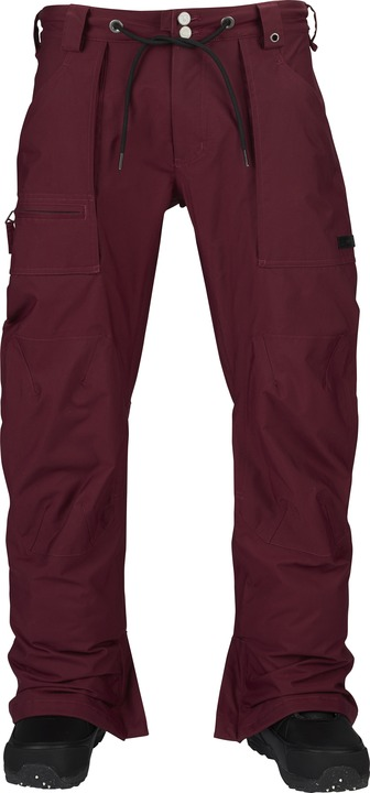 Spodnie Snowboardowe Burton Southside Slim (Crimson)