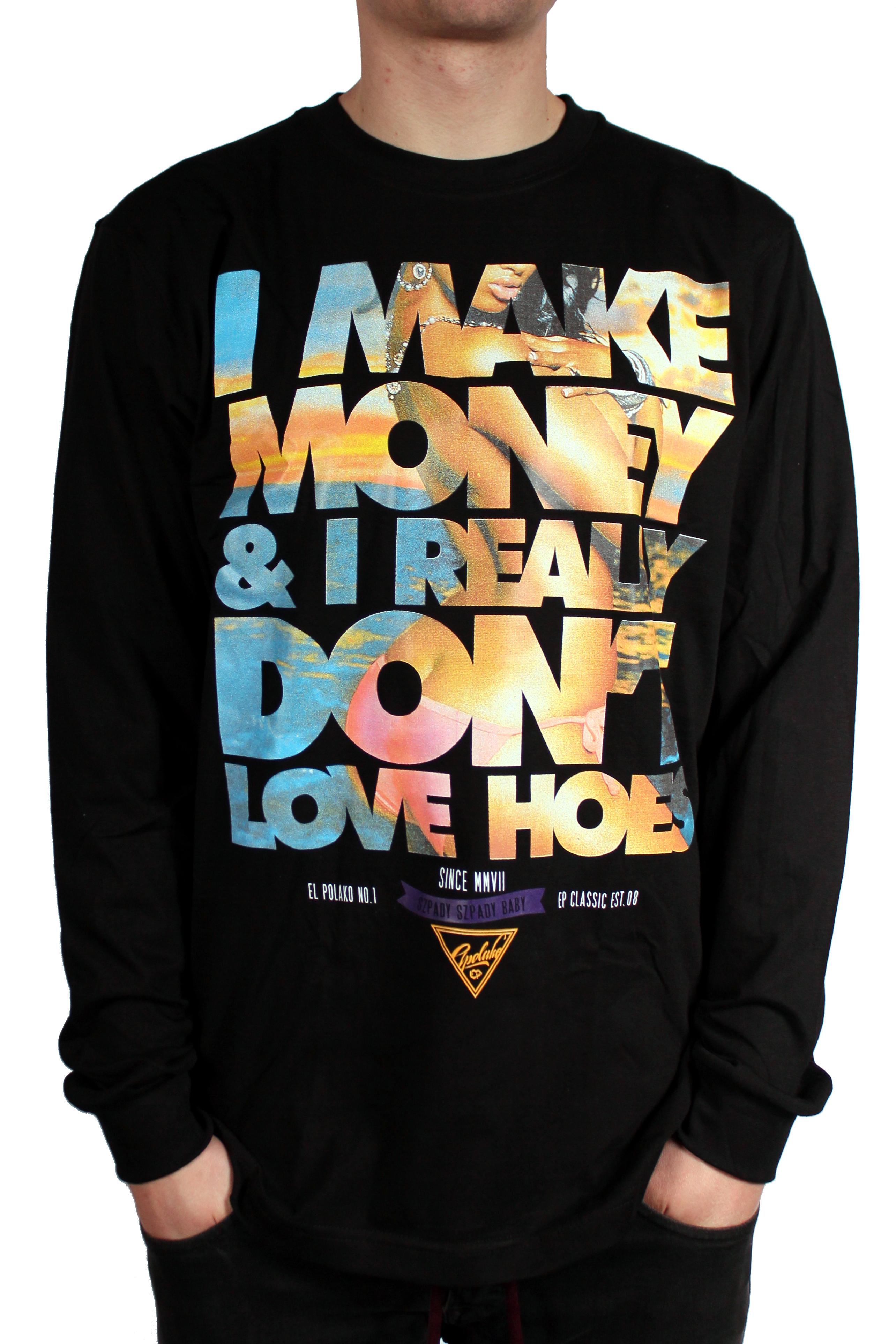 Longsleeve El Polako I Make Money (Black)