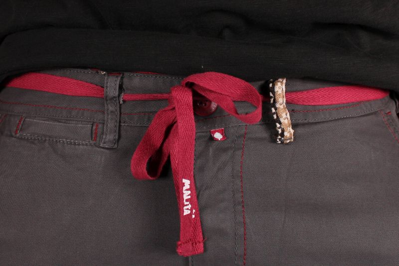 Spodnie Malita Chino New Slim Fit (Graphite)