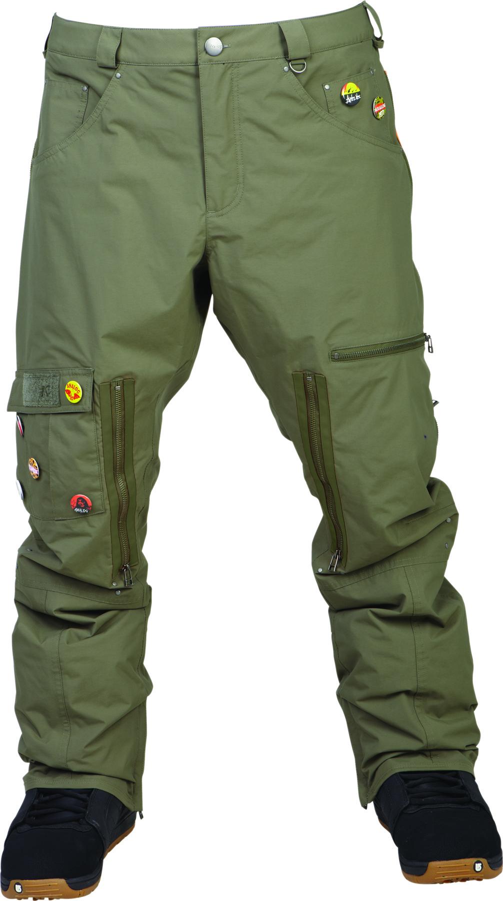 Spodnie Snowboardowe Analog Anarchy (Moss Green)