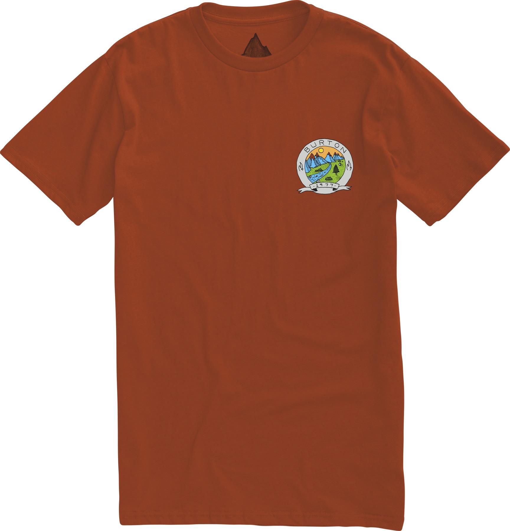 Koszulka Burton Oak Creek Slim (Rust Bucket)