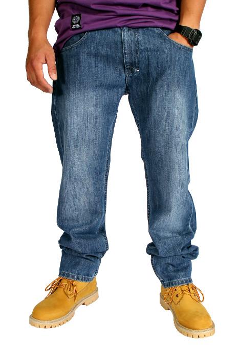 Spodnie Mass Denim Rombs (Blue)