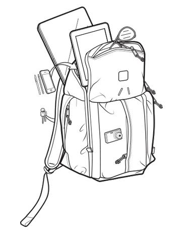Plecak Burton Cadet Pack (Zinfandel Heringbone)