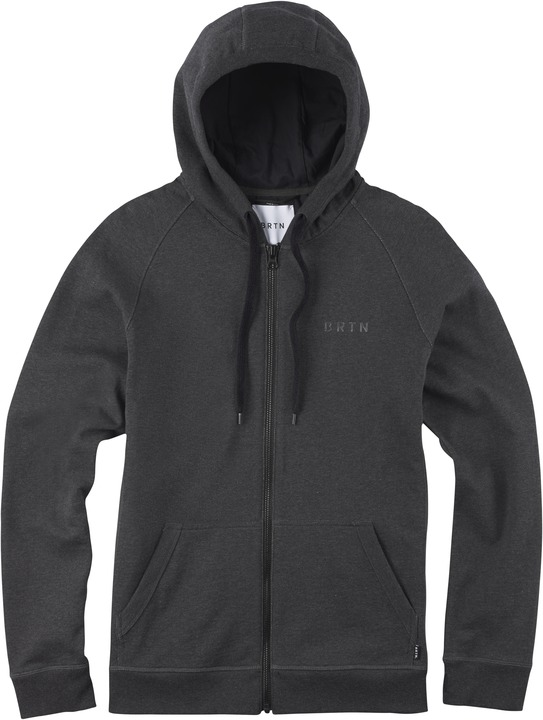Bluza Burton Brtn. Park Full-zip (True Black Heather)