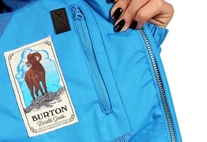 Kurtka Burton Sadie (Lure Blue)