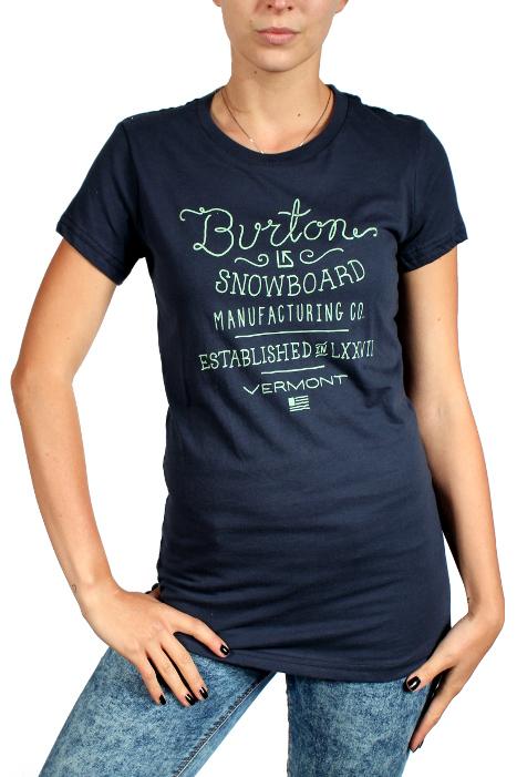 Koszulka Damska Burton Handscript (Eclipse)