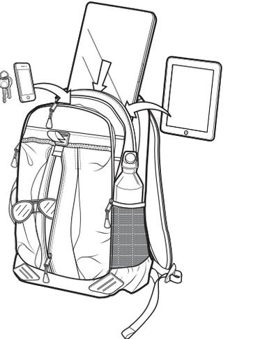 Plecak Burton Echo (Process Pop Ripstop)