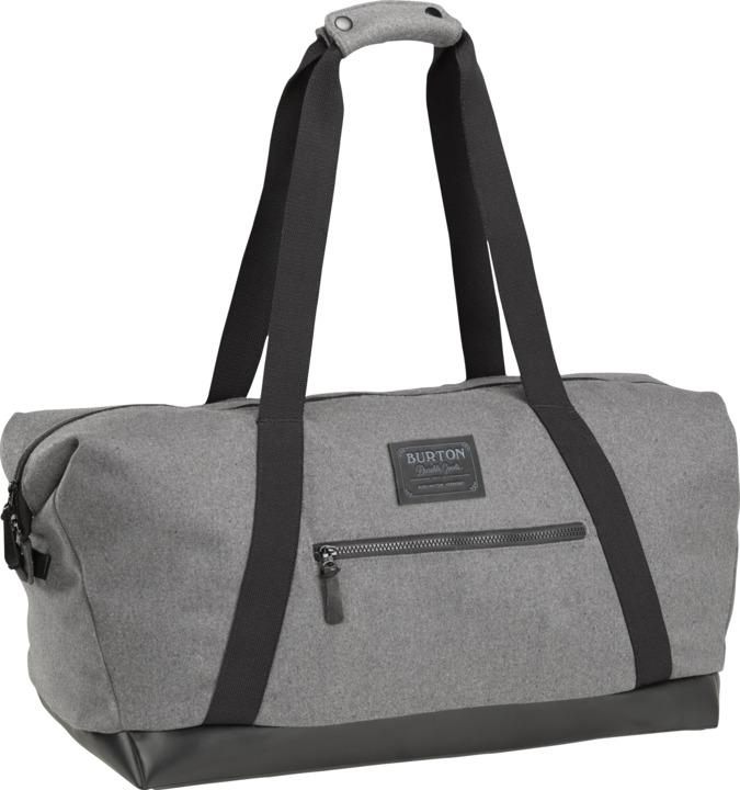 Torba Burton Katie Duffel Bag (Grey Wool Leather)
