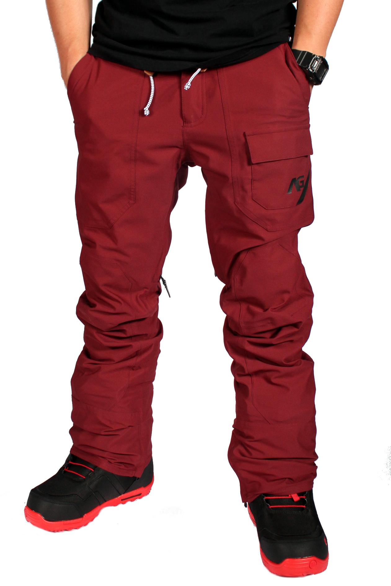 Spodnie Snowboardowe Analog Protocol (Burgundy)