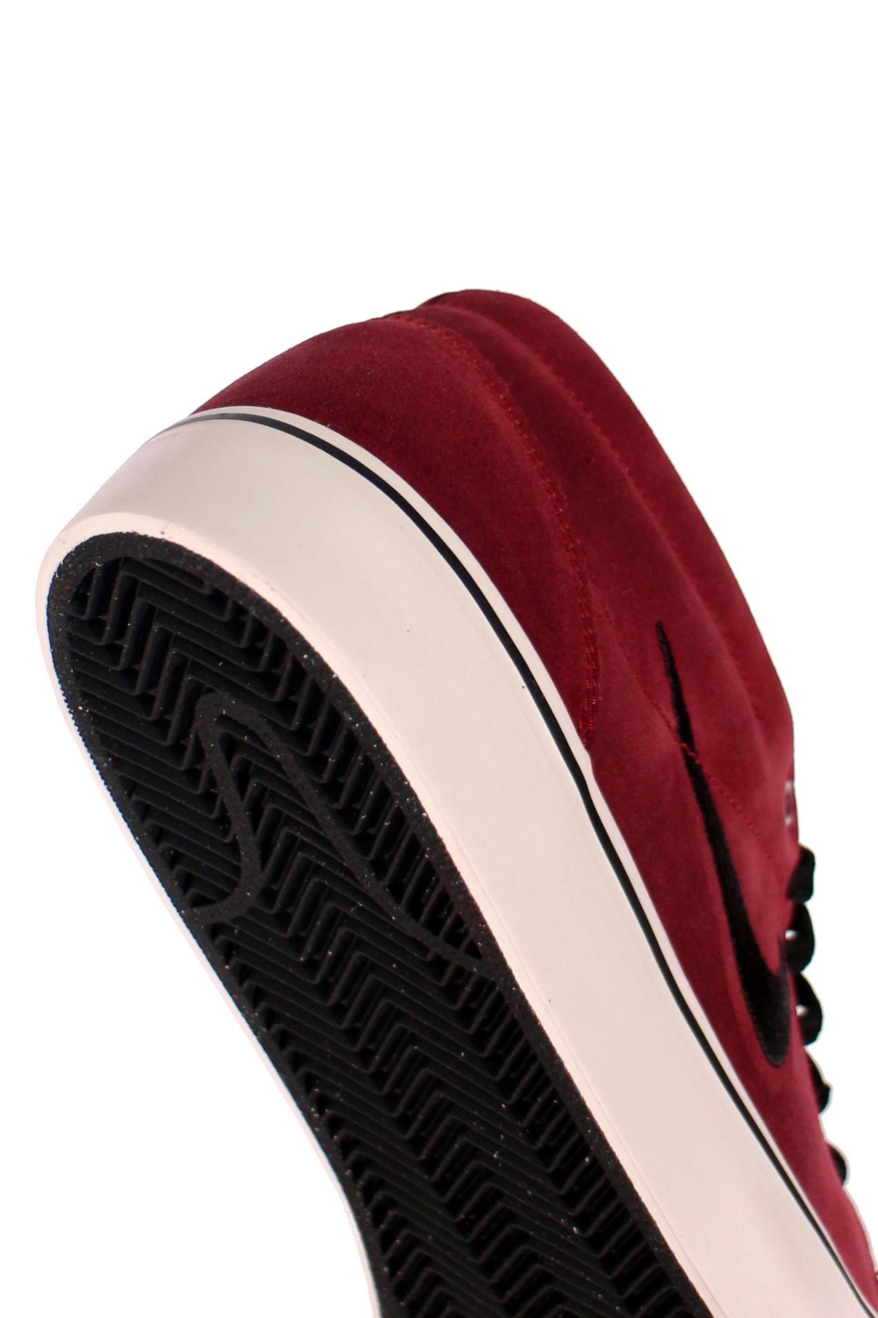 Buty Nike Satire Mid (Crimson/ Black/ White Gum)