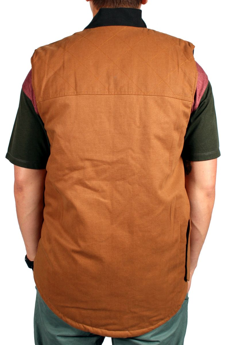 Kamizelka Dwustronna Analog Divest (Leather Brown)