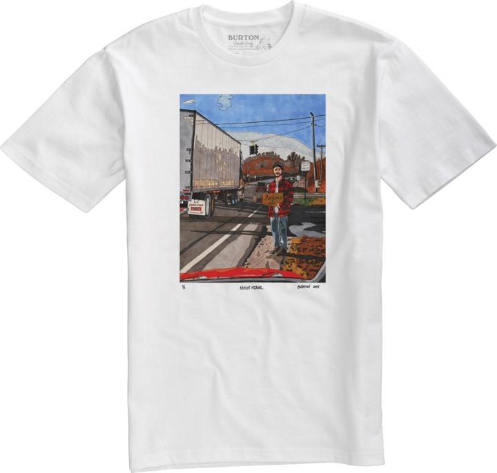 Koszulka Burton Hitch Hiker (Stout White)