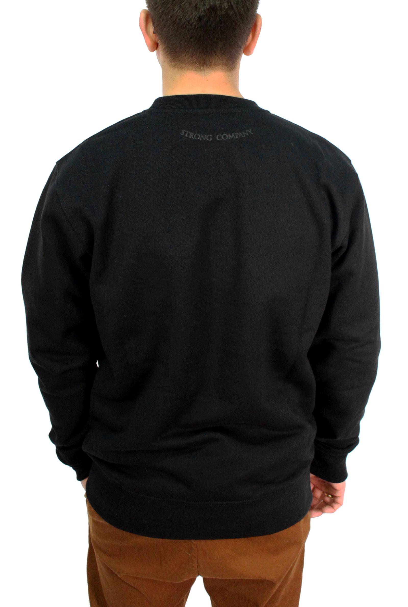 Bluza Nervous Crew Shield (Black / Black) Sp16