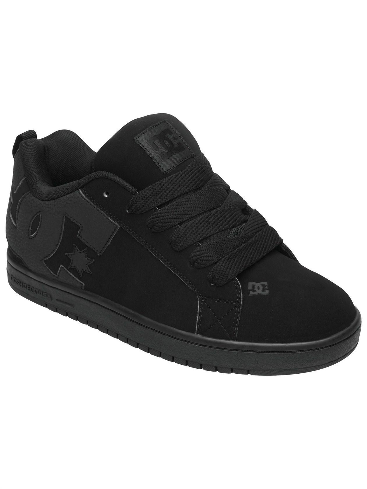 Buty Dc Court Graffik (Black/ Black/ Black) Ss16