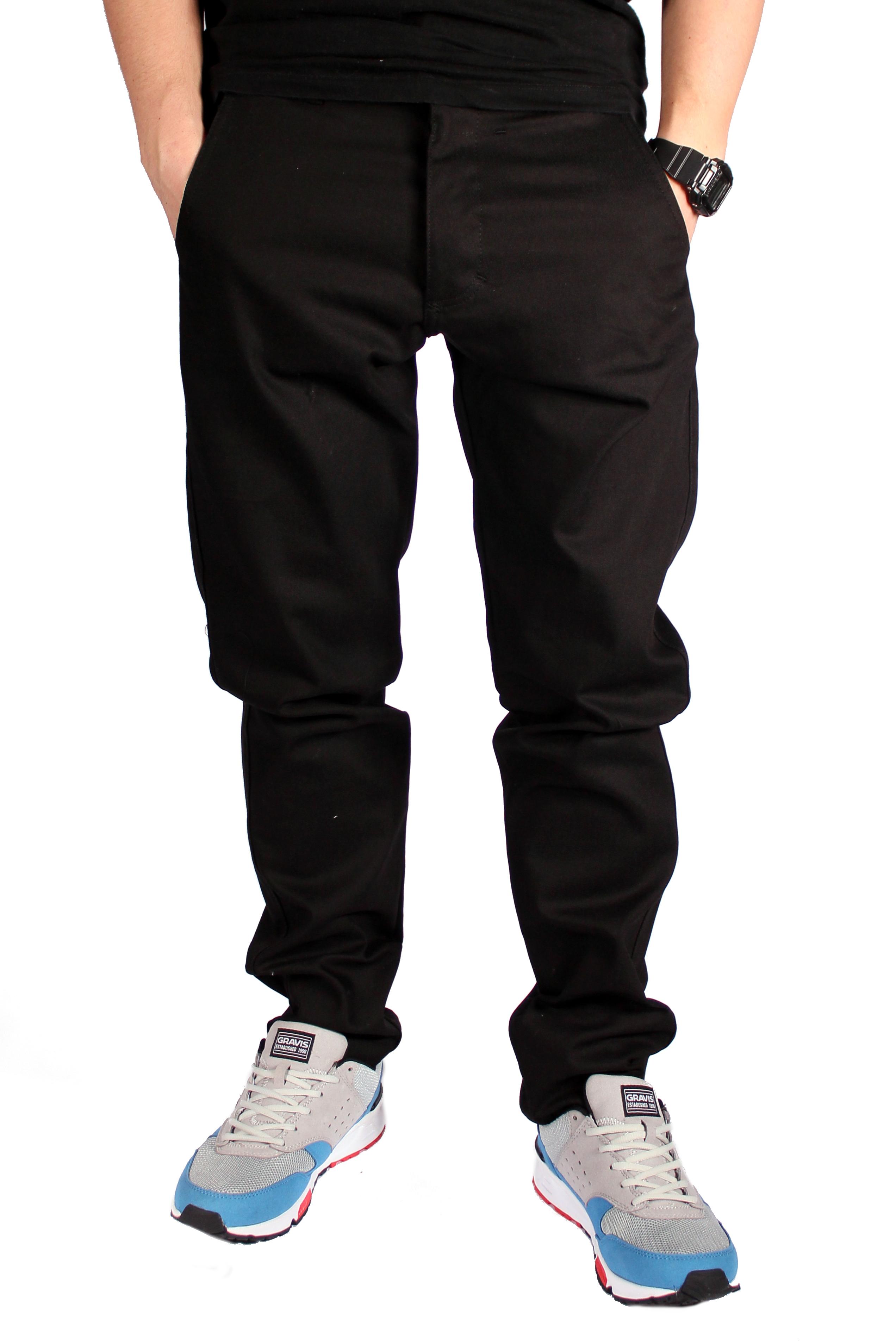 Spodnie Turbokolor Chinos Slimfit (Black)