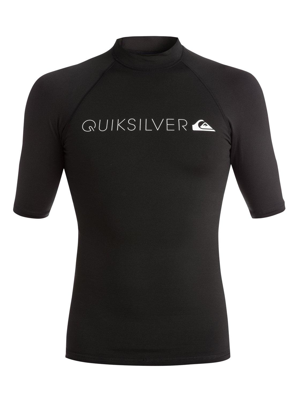 Lycra Quiksilver Heater Rushguard (Black) Ss16