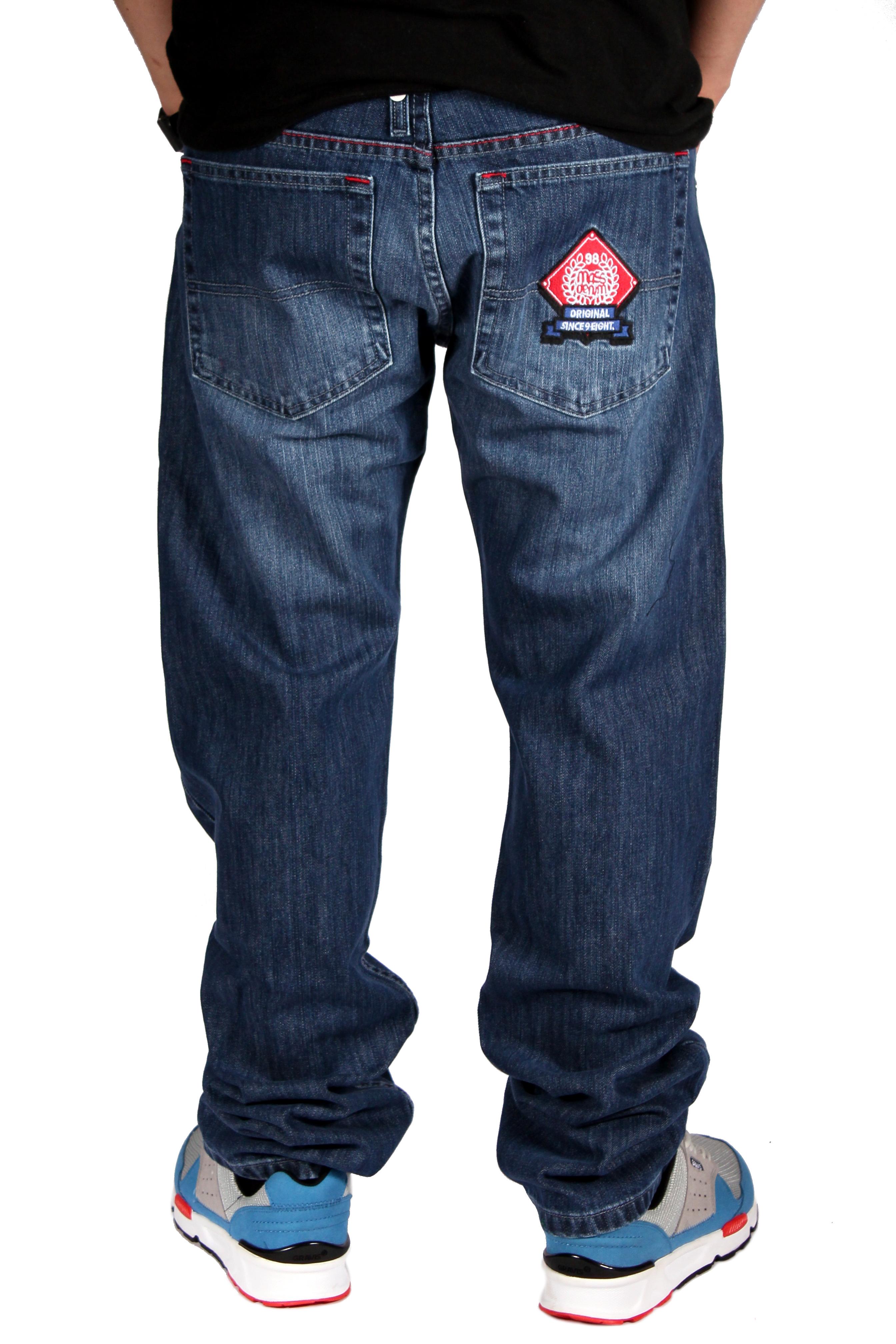 Spodnie Mass Denim Jeans Ambition (Blue)