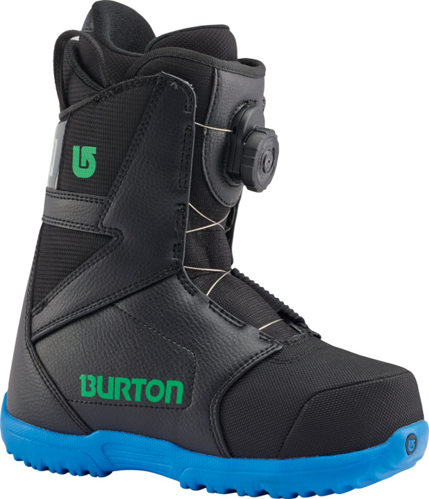 Dziecięce Buty Snowboardowe Progression Boa (Black Green)