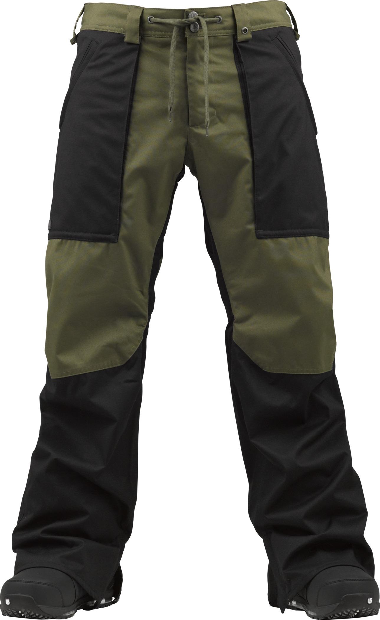 Spodnie Snowboardowe Burton Southside (True Black/Keef)