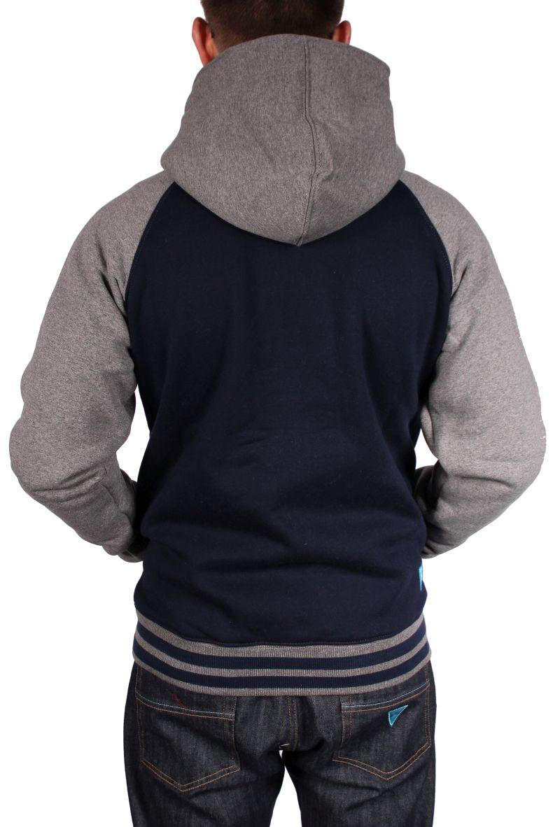 Bluza Nervous Zip Classic Sp14 (Navy/Grey)
