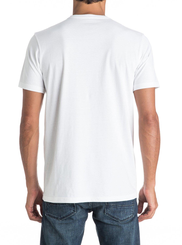 Koszulka Quiksilver Silvered (White) Ss17