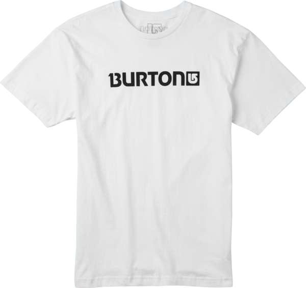 Koszulka Burton Logo Horizontal (Stout White)