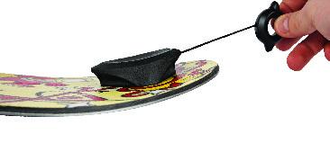 Linka Holownicza Burton Riglet Board Reel (Black)