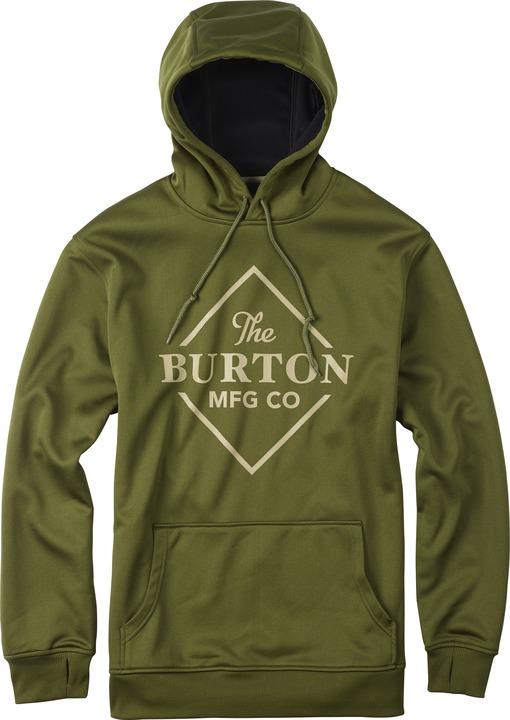 Bluza Aktywna Burton Crown Bonded (Rifle Green Heather)