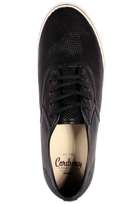 Buty Gravis Slymz Leather (Black Perf)