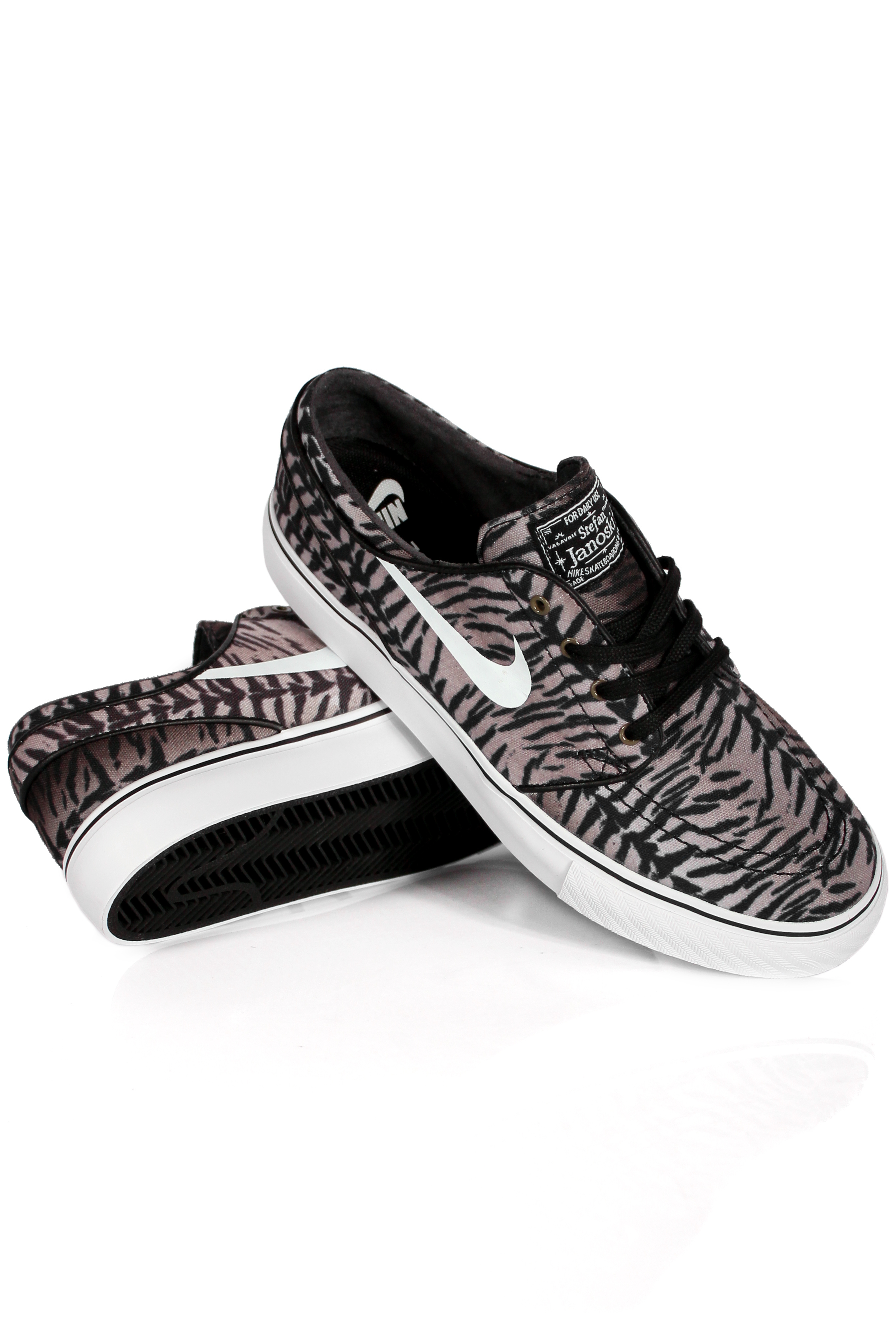 Buty Nike Sb Stefan Janoski (Black/White/ Olive Tiger Camo)